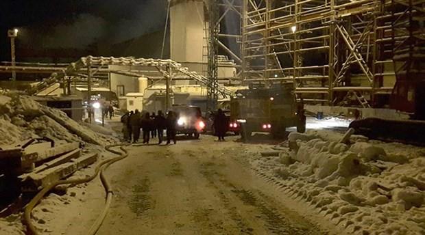 Rusya'da madende yangın: 9 işçi hayatını kaybetti