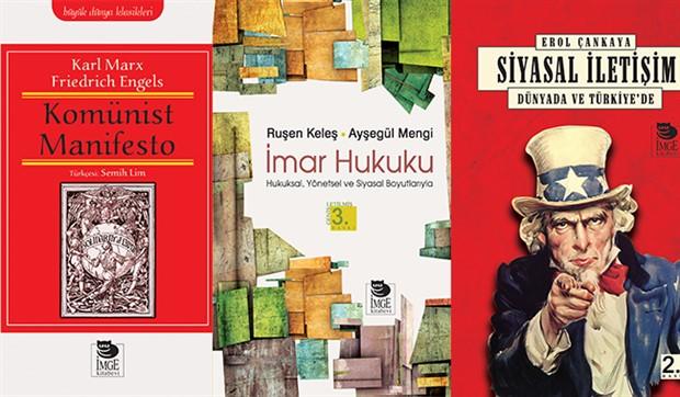 İmge Kitabevi Yayınları'ndan 11 yeni kitap