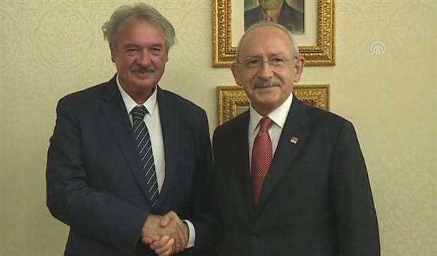 Kılıçdaroğlu, Lüksemburg Dışişleri Bakanı ile görüştü