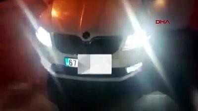 Aracında çakar lamba bulunduran ehliyetsiz ve alkollü sürücüye 4 bin 511 lira ceza