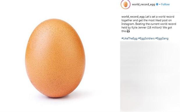 Instagram'da beğeni rekoru kıran 'yumurta'nın arkasında kim var?
