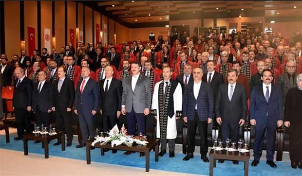 """Erdoğan """"Bizden önce üniversite yoktu"""" demişti: Sivas Cumhuriyet Üniversitesi 45'inci yılını kutladı"""