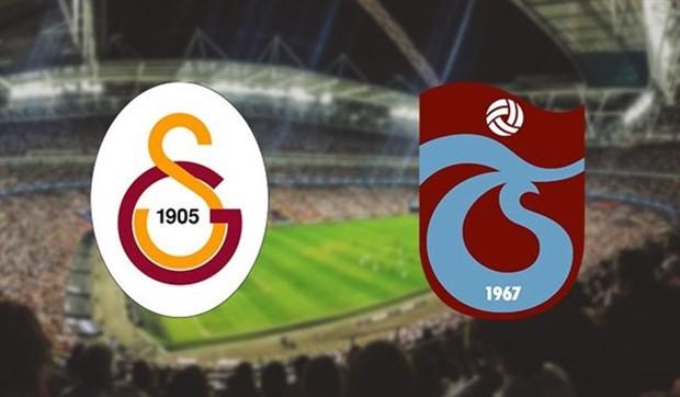 Galatasaray – Trabzonspor maçında 11'ler belli oldu