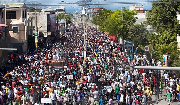 Haiti'de yolsuzluk karşıtı gösteri: 4 ölü