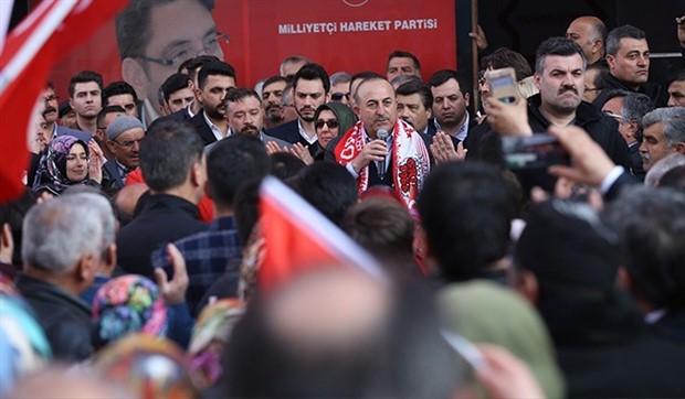 Çavuşoğlu: Cumhur İttifakı'na kim ihanet ederse bedelini öder
