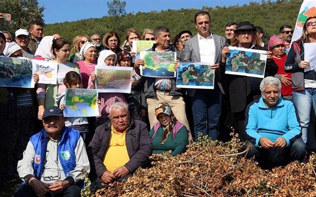 Ağaçların kesildiği Kargıcak'ta köylüler isyanda