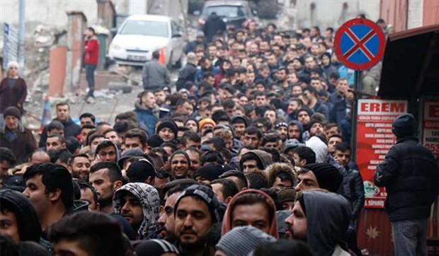 Afyonkarahisar'da 15 kişilik işe 1040 kişi başvurdu