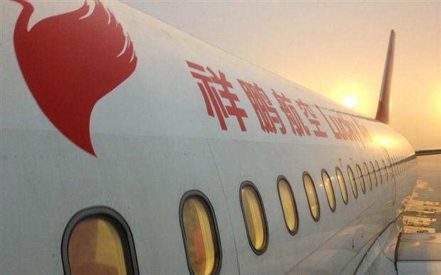 Çin'de 'uğur getirmesi' için uçağın motoruna bozuk para atan yolcuya dava