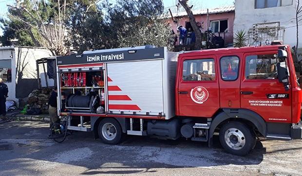 Milas'ta yangın: 1 kişi yaşamını yitirdi