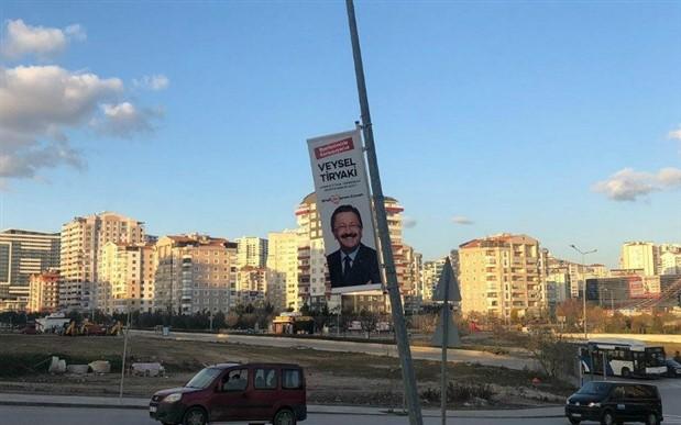 AKP'ye afiş uyarısı: Can güvenliğini tehlikeye atıyorsunuz