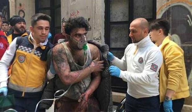 Beyoğlu'ndaki yangını arkadaşlarını korkutmak için çıkarmış