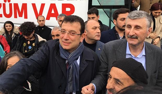 Ekrem İmamoğlu ve Alper Taş'a yurttaşlardan yoğun ilgi