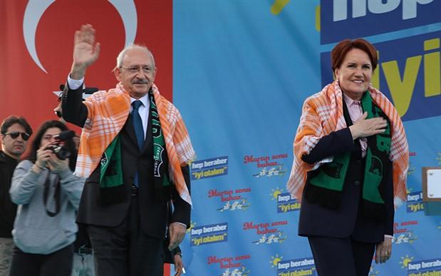Kılıçdaroğlu ile Akşener'den ilk ortak miting