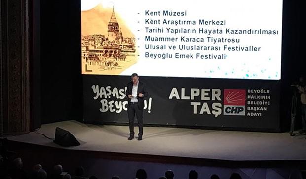 """""""Beyoğlu halkın olacak, yeniden yaşayacak"""""""