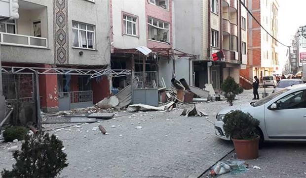 İstanbul Esenyurt'ta iş yerinde patlama