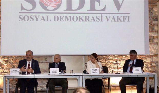 İzmir'de SODEV toplantısı: Artık 'Sosyal Demokrasi 4.0' konuşulmalı