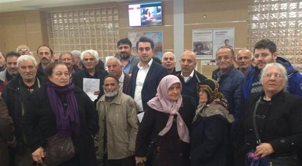 102 kişi AKP'li belediyeden şikâyetçi oldu: Mahallede asbest var