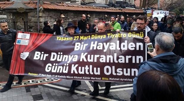 İstanbul Valiliği, Tiyatrolar Günü yürüyüşünü yasakladı
