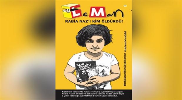 LeMan dergisi 'Rabia Naz'ı kapağına taşıdı