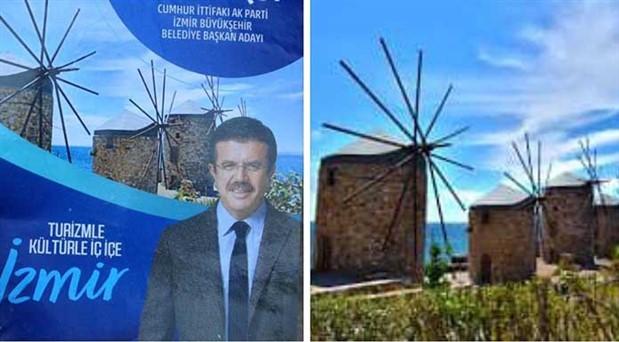 Sakız Adası resmiyle İzmir kampanyası