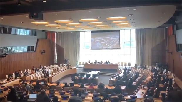 Che'yi hedef alan saldırıdan bu yana kapalı olan BM Güvenlik Konseyi'nin perdeleri açıldı