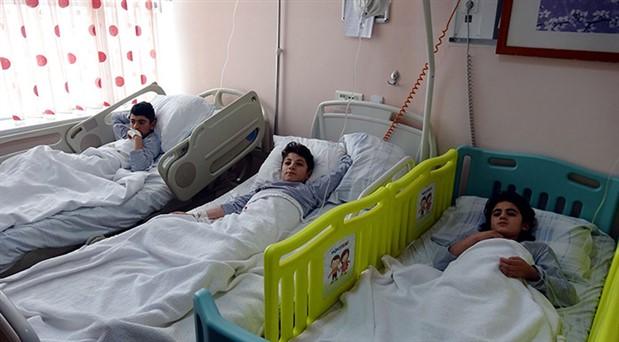 Kars'ta 6 çocuk cıvadan zehirlendi