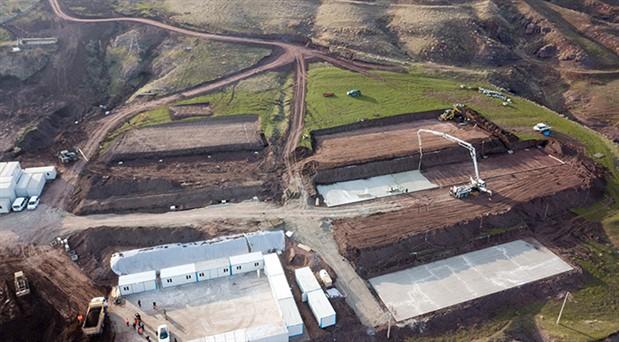 Ahlat'ta Erdoğan'ın köşkü için inşaat başladı
