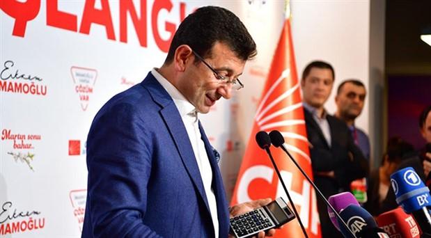 CHP, İmamoğlu'nu resmi internet sitesine ekledi