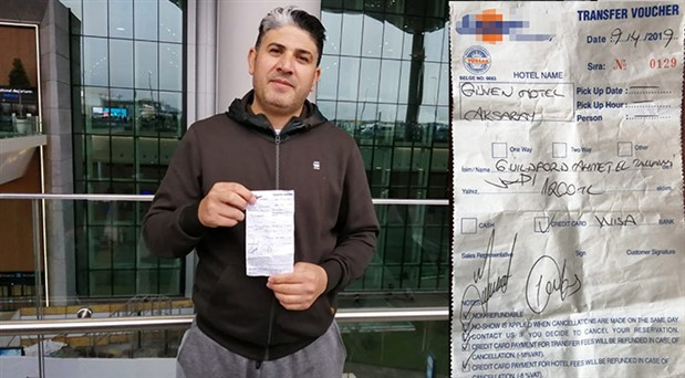 İstanbul Havalimanı'ndan Aksaray'a bin 200 lira fatura!