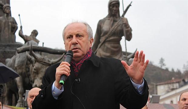 Muharrem İnce: Türkiye'de seçimlere katılmak serbest ama kazanmak yasak