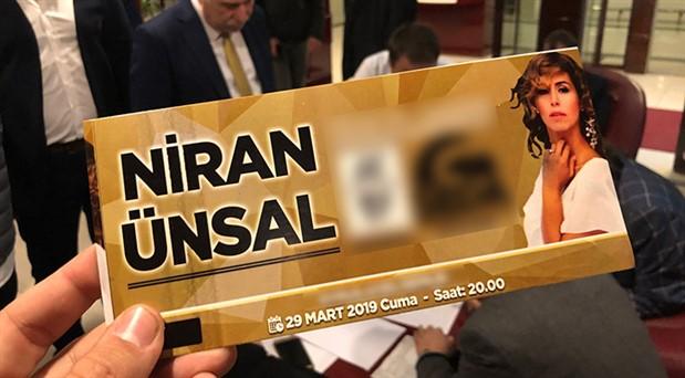 Şarkıcı Niran Ünsal hakkında suç duyurusu