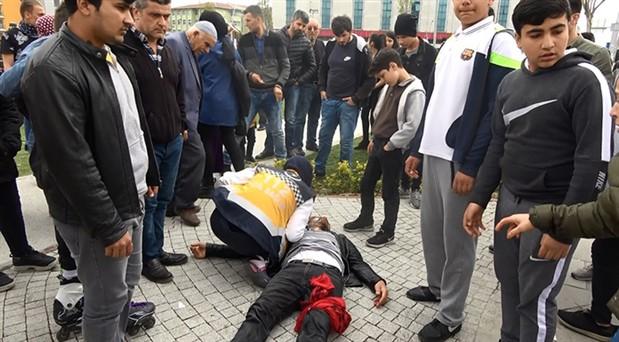 Sultangazi'de eşini döven adamı bıçakladılar