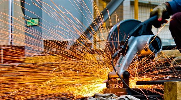 Sanayi üretiminde yüzde 5,1'lik düşüş