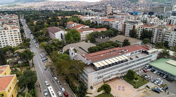 Dokuz Eylül Üniversitesi'nin Rektörlük Binası ve ekleri kültür mirası oldu