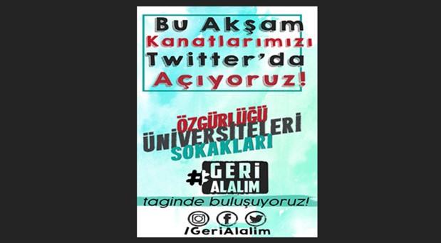 """Gençlerden 1 Mayıs çağrısı: """"Özgürlüğümüzü geri alalım, birlikte yürüyelim"""""""