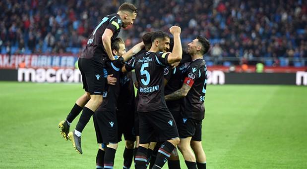 Trabzonspor'dan üst üste 5. galibiyet