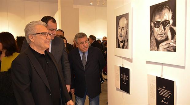 Ara Güler'in objektifinden Zülfü Livaneli'yi etkileyen yazarlar sergisi Ankara'da