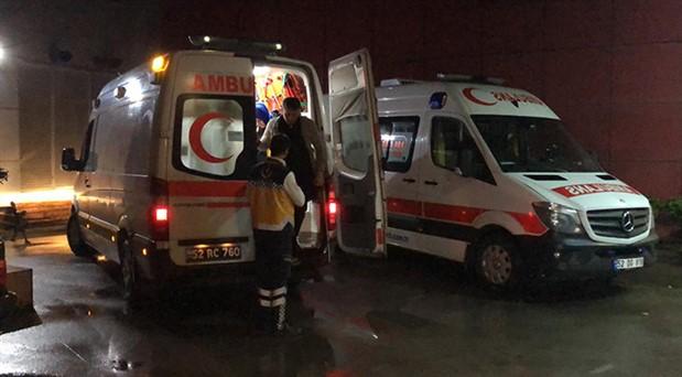 Elektrik panosunda patlama: 9 kişi hastaneye kaldırıldı