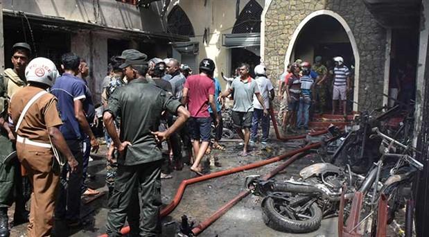 Sri Lanka'da ölü sayısı 359'a yükseldi