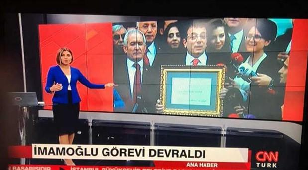 CNN Türk'ten 'Ekrem İmamoğlu' kararı