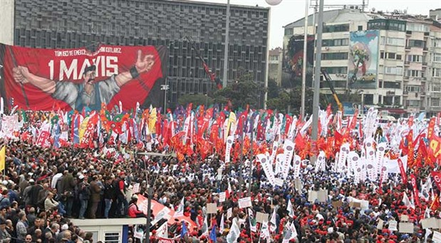 1 Mayıs'ta Taksim yasak