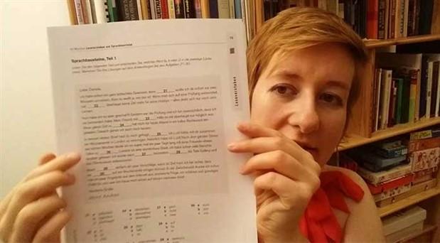 Aile birleşimi için Almanca sınavı kabul edilemez
