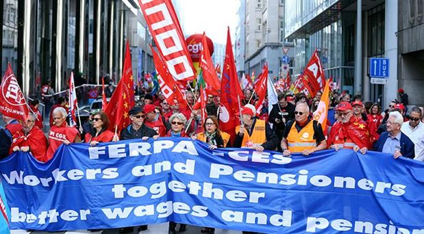 """""""İşçiler için daha adil bir Avrupa"""""""