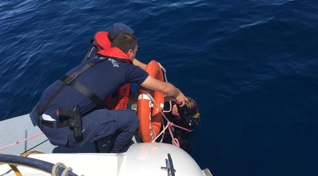 Ayvalık'ta sığınmacıları taşıyan tekne battı: 9 ölü