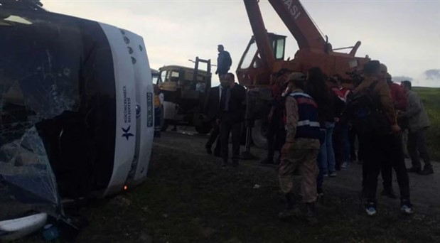 Tokat'ta otobüs devrildi: 7 kişi hayatını kaybetti