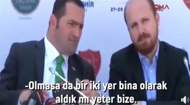 AKP'li Yıldız ile Bilal Erdoğan arasındaki 'yer kapatma' sohbeti haberlerine erişim engeli