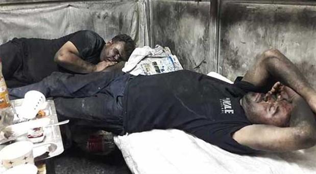 Kale Kayış işçileri Meclis'teydi: Çalışırken ölmek  istemiyoruz!