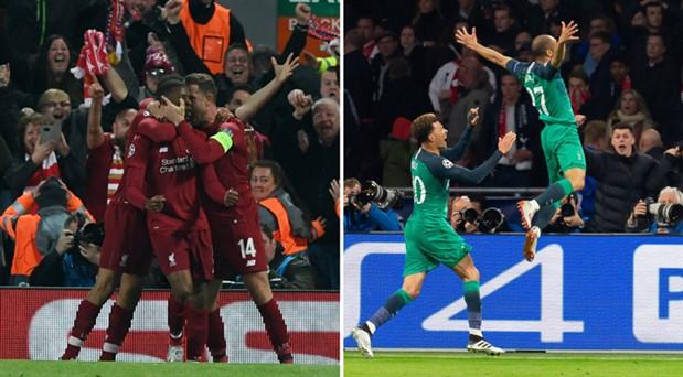 Epik maçların ardından: Şampiyonlar Ligi'nde Liverpool-Tottenham finali