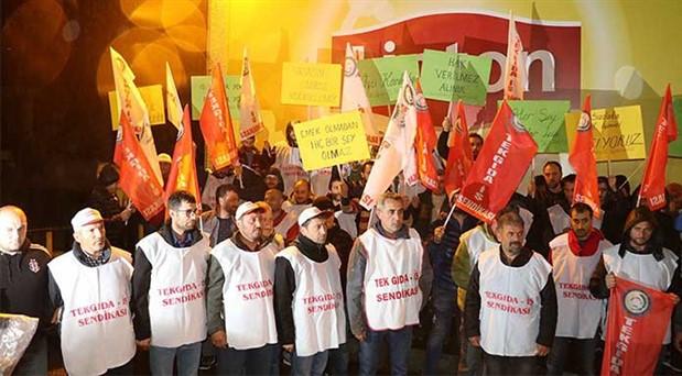 Lipton çalışanları işsiz kaldı