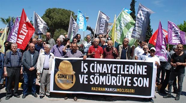 Birleşik Haziran Hareketi Soma'yı unutmadı: Bu dava burada bitmez